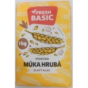 Pšeničná múka Hrubá Zlatý klas Fresh Basic 1 kg