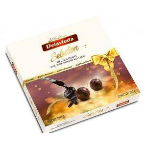 Delaviuda Selection - pralinky z mliečnej a horkej čok. s karamelovým krémom 200 g