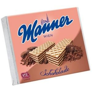 Manner oblátky plnené Čokoládovou náplňou 75 g