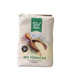 Bio múka Pšeničná celozrnná hladká Fresh Bio 1kg