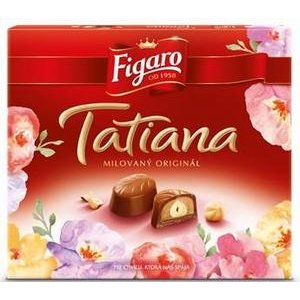Tatiana dezert Figaro-mliečna čokoláda s celým orieškom a nugátovým krémom174g