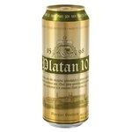 Pivo Platan 10° - svetlý ležiak 500ml/plech