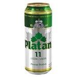 Pivo Platan 11° - svetlý ležiak 500ml/plech
