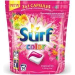Surf Color Tropical Lily  a  Ylang Ylang - gélové kapsuly na pranie 14 ks