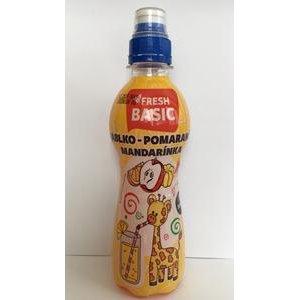 Fresh Detský nápoj Jablko - Pomaranč - Mandarinka 300 ml