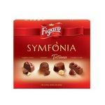 Symfónia Figaro dezert - výber 4 druhov praliniek z mliečnej čokolády 151 g