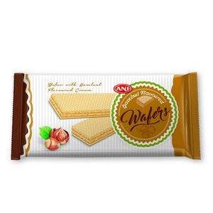 Waffers Ani Hazelnut Cream - Oblátky plnené Lieskoorieškovým krémom 40 g