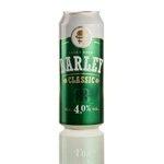 Pivo Barley svetlé 4% alkoholu v plechovke 0,5 l