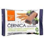 Černica Nature Line - celozrnné sušienky špaldové s černicová náplňou 50 g