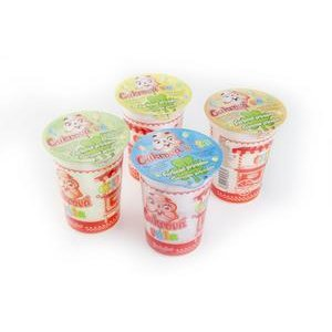 Cukrova Vata - rozne prichute s prirodnymi farbivami 20 g