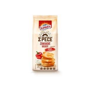 Slovakia Z Pece - zemiakové krekery s príchuťou Smotany a Papriky 100 g