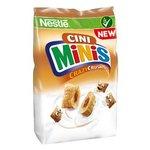 Cini Minis Crazy Crush - Celozrnné cereálne taštičky so škoricovou náplňou 150 g