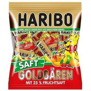 Haribo Goldbären Saft Minis-želé Medvedíky s 25% ovoc.šťavy v minipackoch 220g