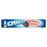 Oreo Kakaové sušienky s príchuťou Jahôd a Cheesecaku 154 g