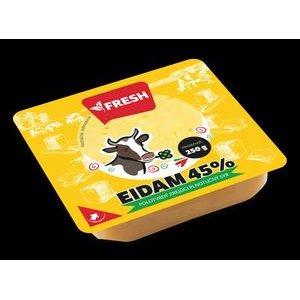 Eidam Fresh - porciovany tradicny tvrdy syr 250 g