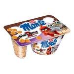 Zott Monte Angry Birds-mliečny čok.dezert s lies.orieškami a maslo.sušienkami 125g