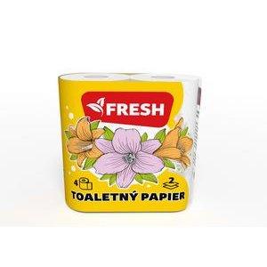 Fresh Toaletný papier 2 vrstvý 18 metrov - 4 ks