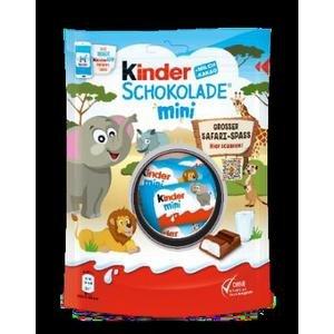 Kinder Mini Chocolate 120 g - tyčinky z mliečnej čokolády s mliečnou náplňou