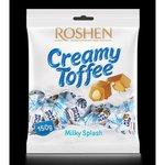 Roshen Creamy Toffee - Karamely s mliečnu náplňou Milky Splash 150 g