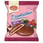Bombolina Cake Mania 55g-Koláč z lineckého cesta s ovoc.náplňou v kakao.poleve