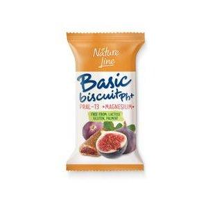 Basic Biscuit Ph+ Nature Line Plum 50 g-Bazicke susienky plnene slivkovou naplnou