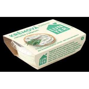 Krémová rastlinná nátierka s Kôprom Lunter 115 g