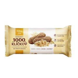 1000 Klíčkov 90 g - Špaldové sušienky s Ovsenými klíčkami