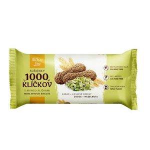 1000 Klíčkov 90 g - Špaldové sušienky s Mungo klíčkami