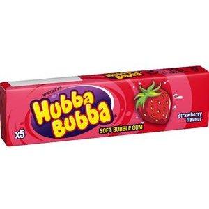 Zuvacka Hubba Bubba Strawberry (Jahoda) 5 ks / 35 g