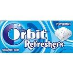 Zuvacka Orbit draze Refreshers Peppermint 7 ks/15,6g