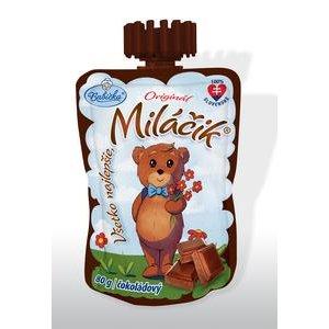 Babicka Milacik smotanovo-tvarohovy dezert Cokoladovy 80 g/v kapsicke