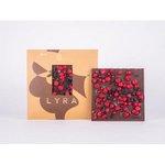 LYRA Nasa Dark - horka cokolada s posypom 80g