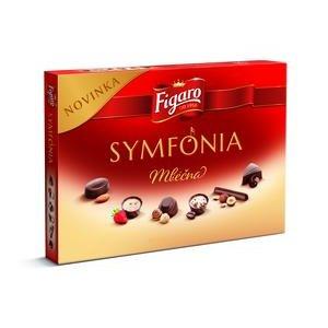 Symfonia Figaro - dezert z Mliecnej cokolady (6 druhov praliniek) 146 g