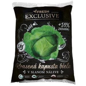 Kapusta kvasena Fresh Exlusive 1kg + 10% (bez konzervacnych latok)