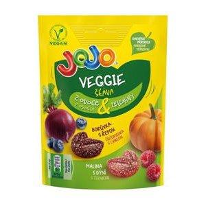 JoJo Veggie - Zele cukriky so stavou z ovocia a zeleniny 81 g