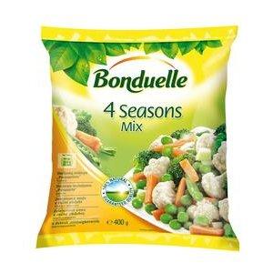 Mrazena zeleninova zmes 4 rocne obdobia Bonduelle 400 g
