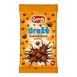 Candy draze 70g - Cokoladove v kakaovej poleve