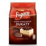 Dukaty cokoladove Horke Figaro 110 g - cukrarenska poleva