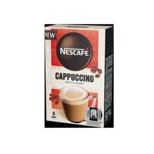 Nescafe Classic Cappuccino - instantna kava s mliekom 8x15g