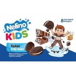 Nelino Kids - mliec.cok.s mliecnou naplnou a s kuskami kako.susienok 93g