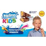 Nelino Kids - mliec.cok.s mliecnou naplnou a s praskajucimi cukrikmi 96g