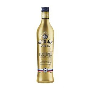 Vodka St.Nicolaus Extra jemna 38% 0,7l - Football Edition