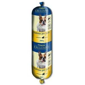 Salama pre psov FRESH - s Ryzou 0,5 kg