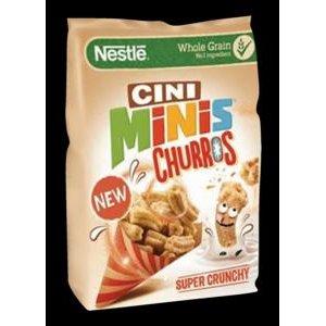 Cini-Minis Churros 400 g - cerealne trubickyso skoricou, s vitaminmi a zelezom