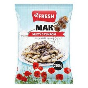 Mak mlety s cukrom 200g Fresh