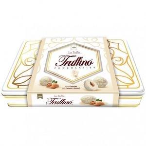 Truffino dezert-Biela cok.plnena Mliecnym krem. s mandlami a kokosom 325g/plech