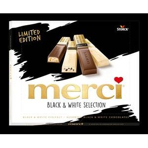 Merci Black  a  White - mix cokolad 240g