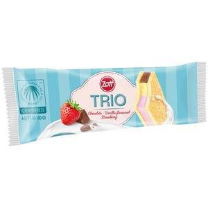 Monte Snack Trio mliecny rez 29g - 3 prichute : cokolada, vanilka, jahoda